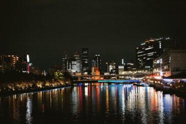 都会の夜景を楽しめる!大阪中之島ランニングコース【片道5km】