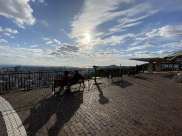 三宮から神戸の景色を一望。北野坂も通る諏訪山展望台ランニングコース【片道2.5km】