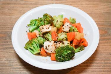 【レシピ】パニールと野菜のサブジ風炒め煮