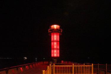 サンポート高松付近で港の夜景を楽しむランニングコース【約4km】