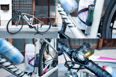レインボーなメタリックカラーが個性的でかわいい!レザイン、スパカズのおしゃれなロードバイクのアイテム