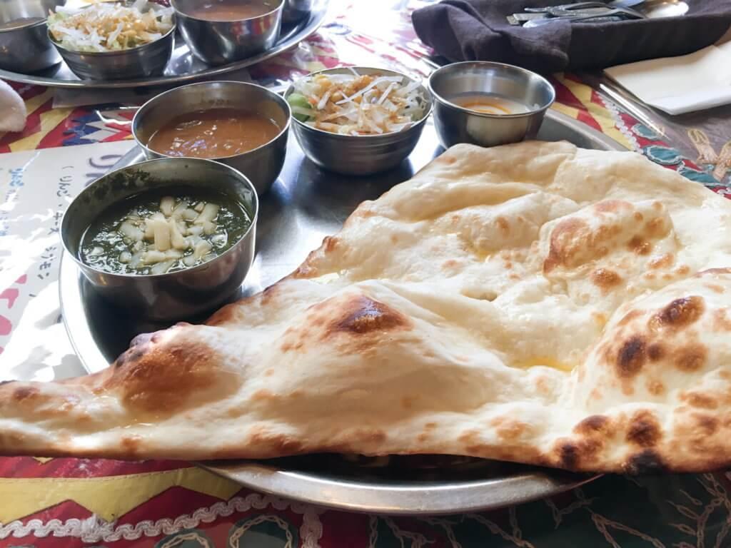 インド料理屋「モダカ」Aセット