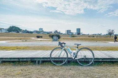 大阪から伏見まで。淀川河川敷のサイクリングコース