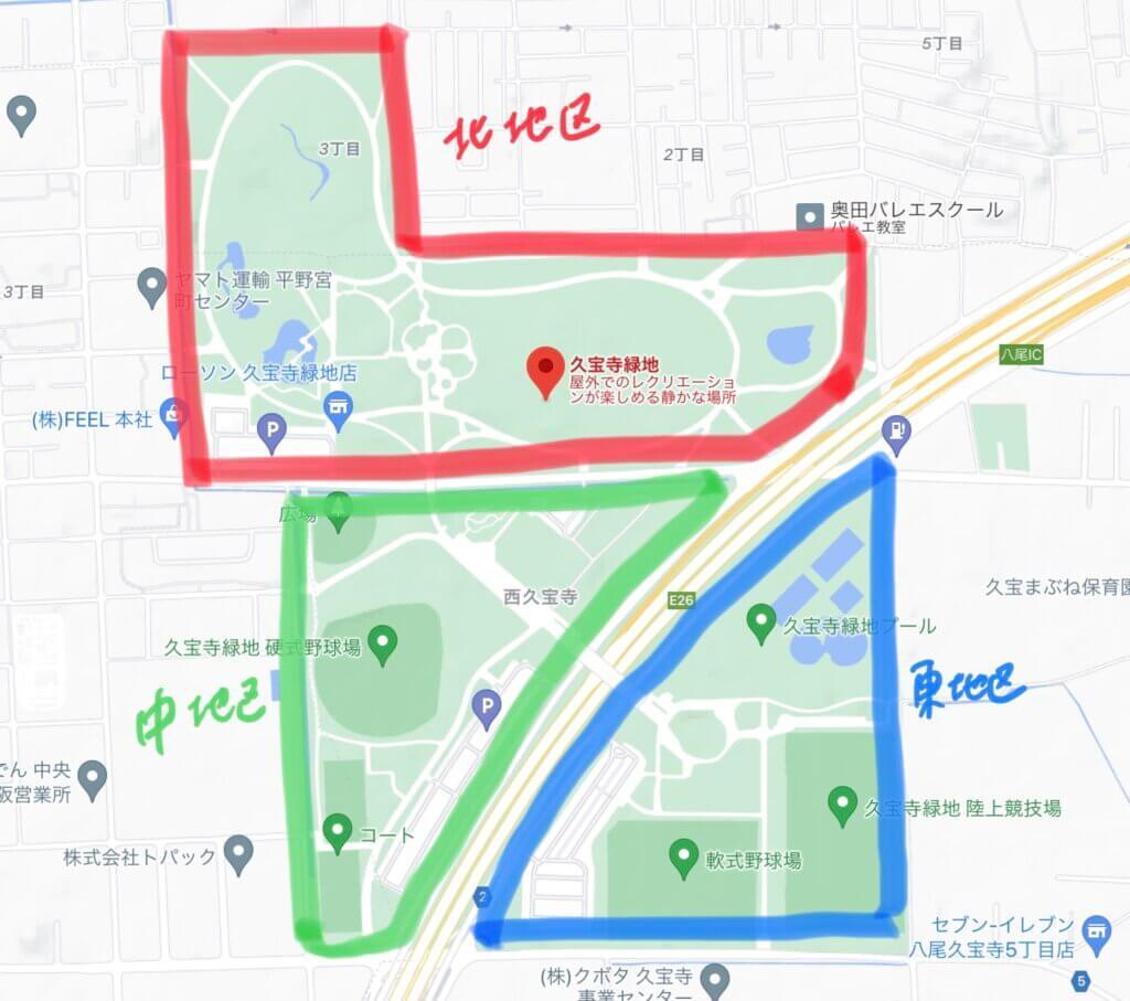 久宝寺マップ
