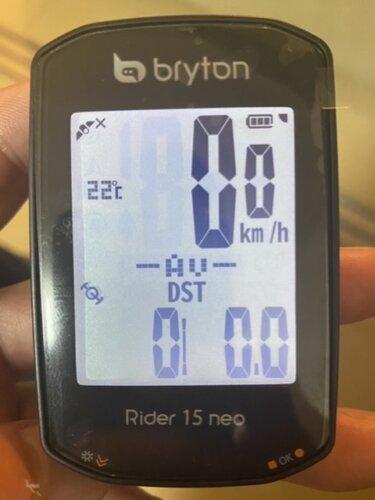 おすすめサイコン。Bryton RIDER 15 neo。機能はこれで十分